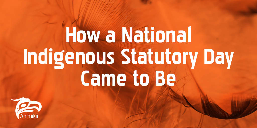 How a National Indigenous Statutory Day Came to Be